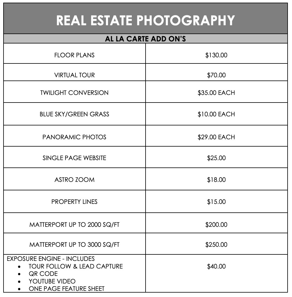 REAL ESTATE PHOTOGRAPHY page 2